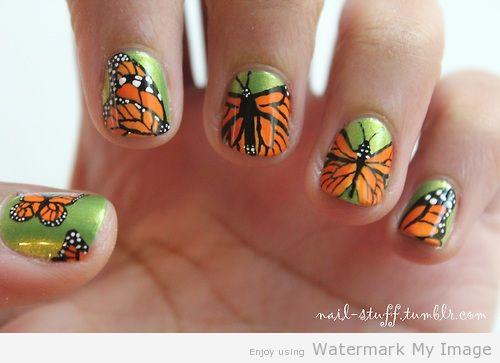 Nail Art de Papillon