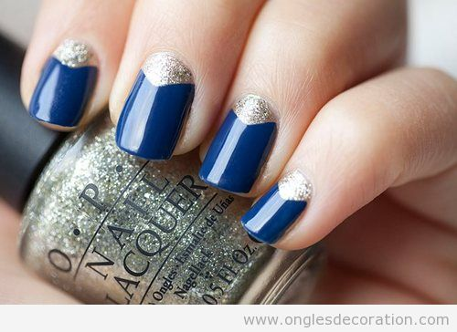 bleu d coration d 39 ongles nail art part 2 dessins sur les ongles. Black Bedroom Furniture Sets. Home Design Ideas