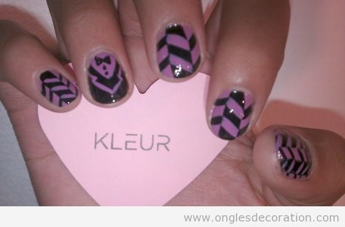 motif d coration d 39 ongles nail art part 11 dessins sur les ongles. Black Bedroom Furniture Sets. Home Design Ideas