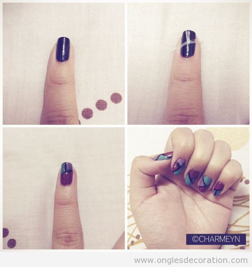 Adh sif d coration d 39 ongles nail art for Decoration ongle simple
