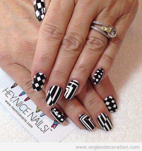g om trique d coration d 39 ongles nail art part 2. Black Bedroom Furniture Sets. Home Design Ideas