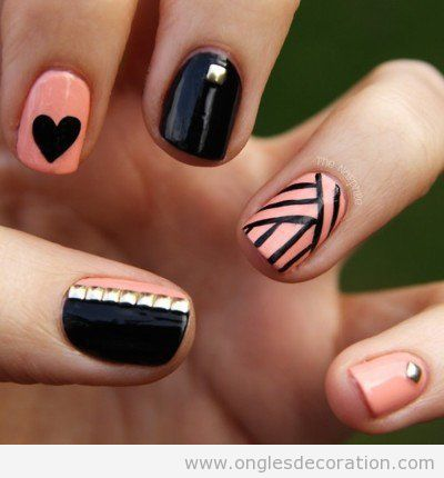 rose d coration d 39 ongles nail art part 2 dessins. Black Bedroom Furniture Sets. Home Design Ideas