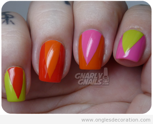 Ongles dessin ete - Ongle couleur ete ...