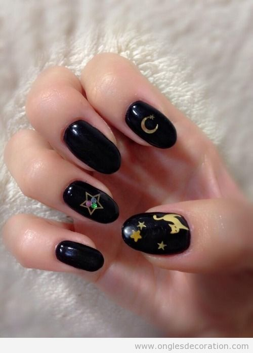 Dessin ongles, Sailor Moon serie telé