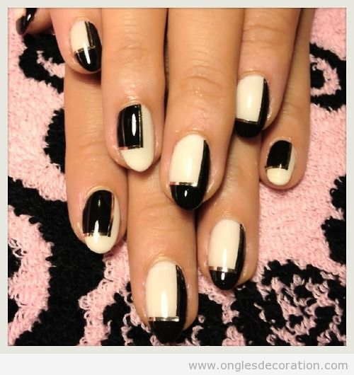 blanc d coration d 39 ongles nail art. Black Bedroom Furniture Sets. Home Design Ideas