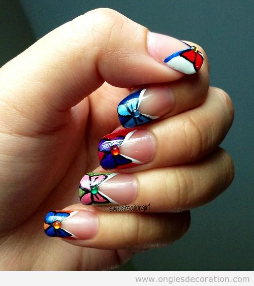 Déco ongles Sailor Moon