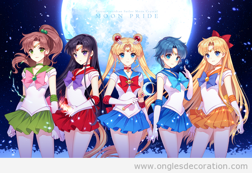 Déco ongles Sailor Moon 2