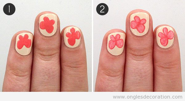 Tutoriel dessin ongles papillon