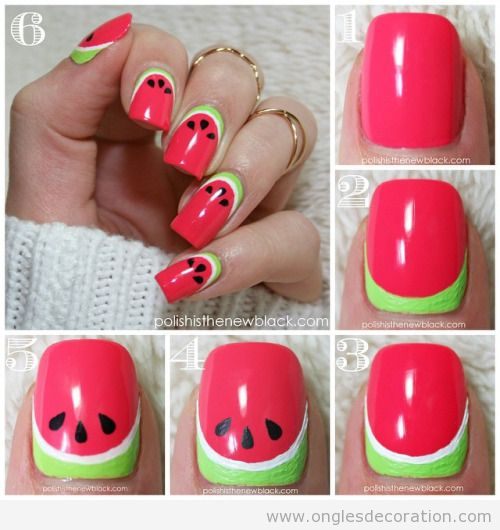 facile d coration d 39 ongles nail art part 2 dessins sur les ongles. Black Bedroom Furniture Sets. Home Design Ideas