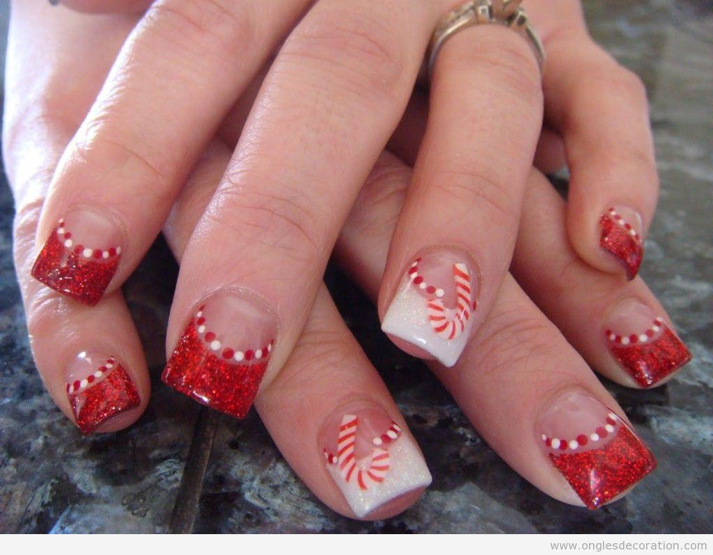 Images dessin ongles Noël 15