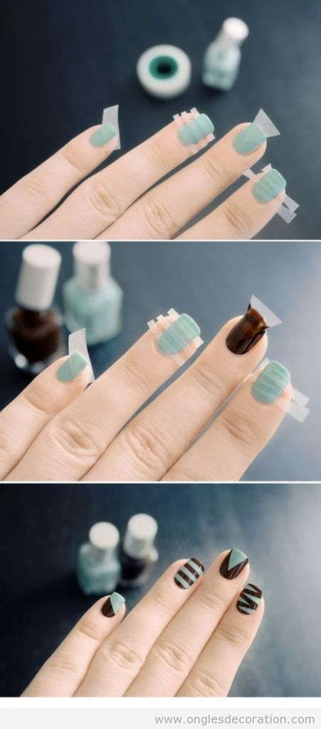 Trucs simples pour décoration sur ongles