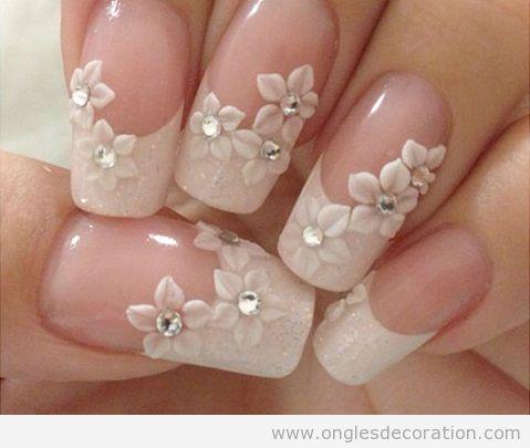 deco ongles fleurs resine 3d 10 d coration d 39 ongles tout sur le nail art la dec ration. Black Bedroom Furniture Sets. Home Design Ideas