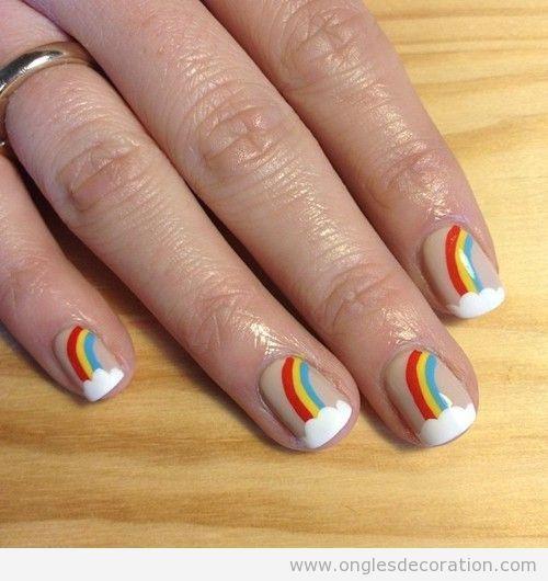 Decoration Sur Ongles Nail Art Dessin Sur Ongles Tuto Pas A Pas