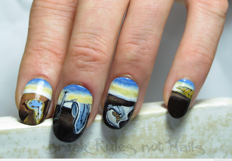 Déco ongles surréalistes Dalí 4